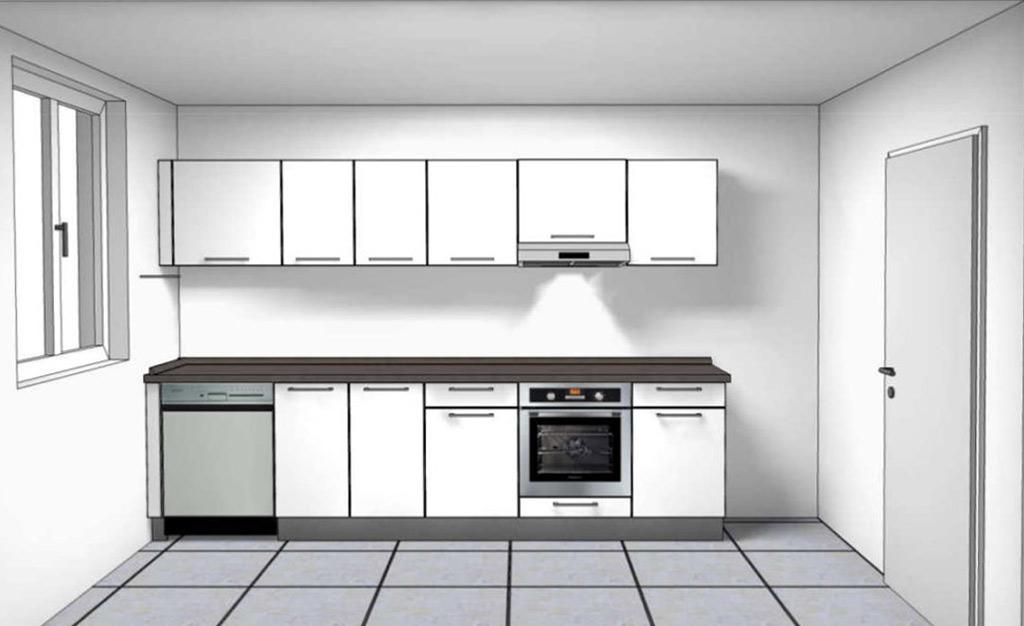 Küchenzeichnung